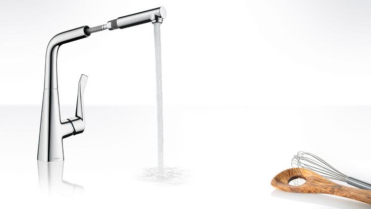 Super Metris Armaturen für die Küche - mit Ausziehbrause | Hansgrohe DE UC92