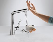 Metris Select kitchen taps
