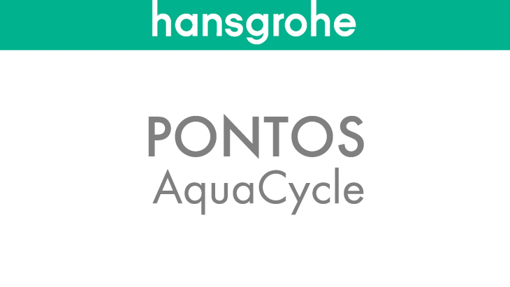 Pontos AquaCycle: environmentally-friendly dual use of water. Because water is too precious to be wasted.