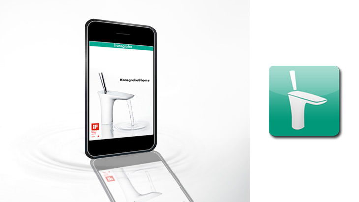 Information on the Hansgrohe@home app (with video)