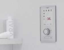 RainBrain, the electronic shower control system from Hansgrohe