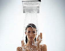 Mixers, showers, kitchen mixers and other Hansgrohe products.