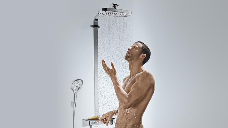 Duschsysteme für mehr Komfort & Spaß   Hansgrohe DE   {Grohe armaturen dusche 37}