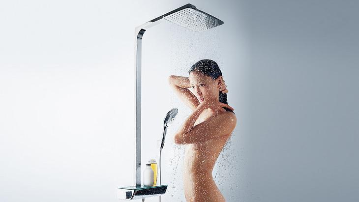 Duschsysteme für mehr Komfort & Spaß   Hansgrohe DE   {Grohe armaturen dusche 65}