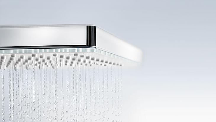 Overhead shower, side shower, rain shower | Hansgrohe INT