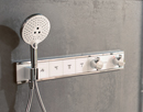 Rainselect concealed shower control.
