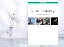 Front page of the current Sustainability Report