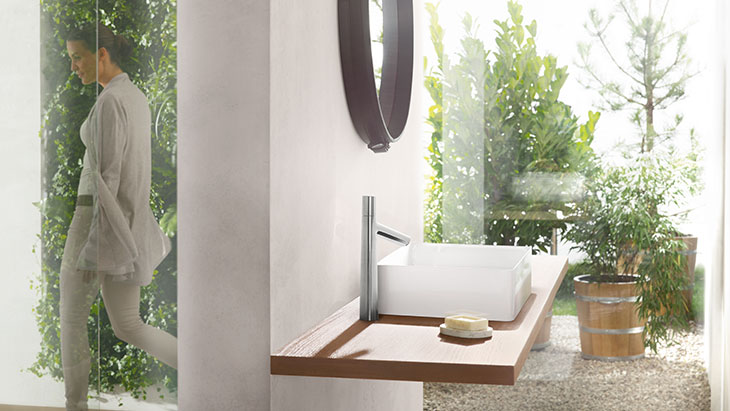 modern bathroom: faucets for ultimate convenience | hansgrohe us