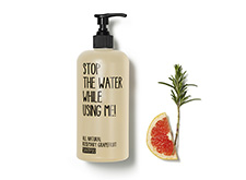 STOP THE WATER WHILE USING ME shower gel.