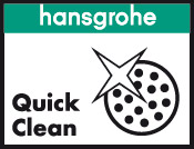 """Hansgrohe"" logotips ""Quick Clean"""