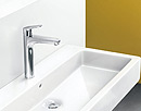 Focus basin mixer