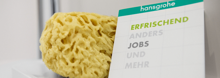 Jobs and applications at Hansgrohe