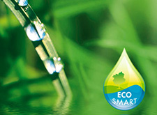 Water droplets, EcoSmart icon