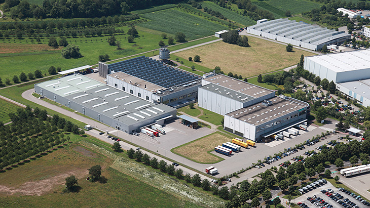 Our plants and sites in Offenburg