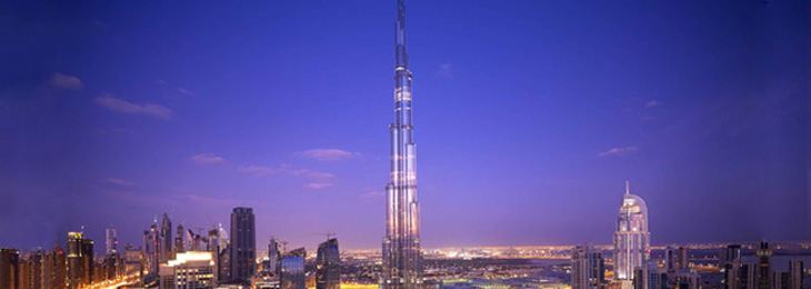 "Quality ""Made in Germany"": Hansgrohe SE mixers are found in the Burj Khalifa, the tallest building in the world."