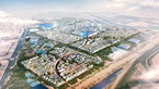 The master plan for Masdar City, the eco city in the desert