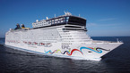 With up to 4,100 passengers, the Norwegian Epic is one of the world's largest cruise ships.