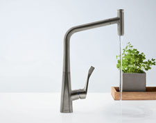 Check out the metris select kitchen faucets by Hansgrohe.