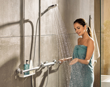 hansgrohe Unica Comfort complete solution.
