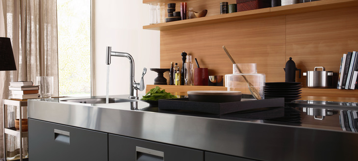 SHK Essen Axor Citterio Select Kitchen Mixers Hansgrohe Group Best Select Kitchen Design Property
