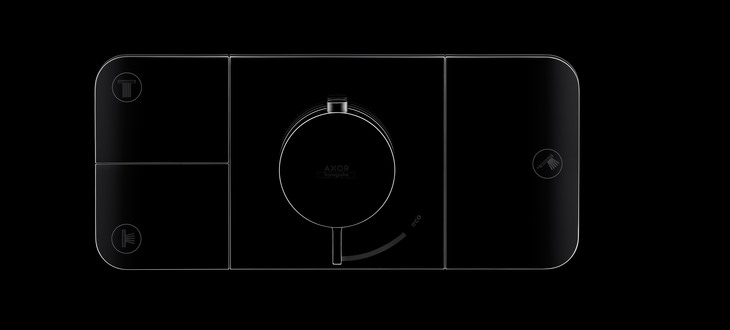 Axor presents the shower control element Axor One