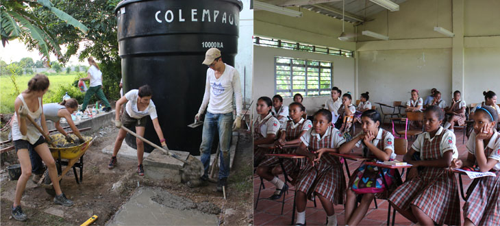Hansgrohe SE supports another water project for school children in Colombia