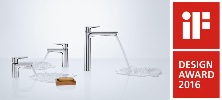 iF DESIGN AWARDS 2016 for Axor and Hansgrohe products