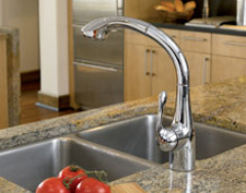Modern kitchen faucets by Hansgrohe. We have the best kitchen sink faucets.