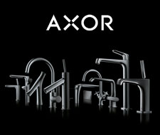 Axor faucets.