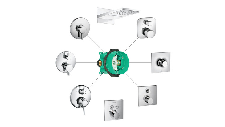hansgrohe ibox vannpumper og tilbeh r. Black Bedroom Furniture Sets. Home Design Ideas