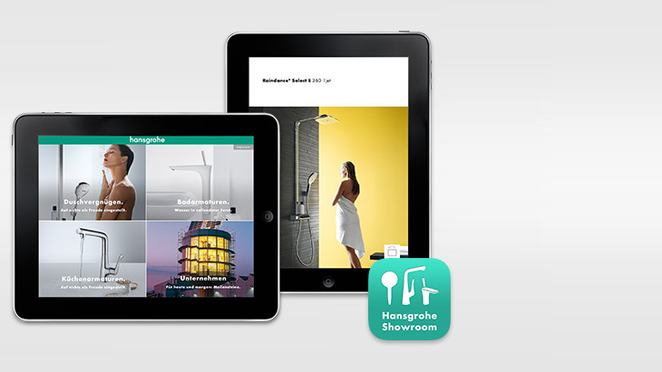 An overview of successful products: A glance at the Hansgrohe compact catalogue