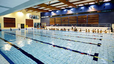 The Yerres swimming pool uses Pontos AquaCycle graywater recycling.