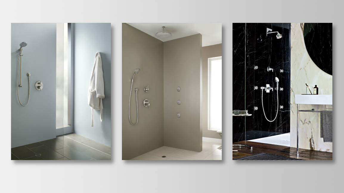 Options For Showers