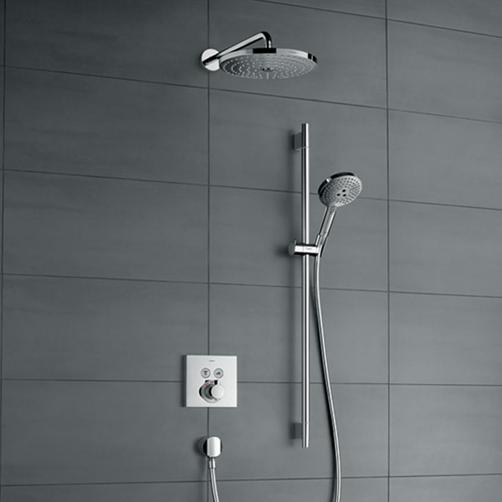 ShowerSelect trims transform your shower | Hansgrohe US