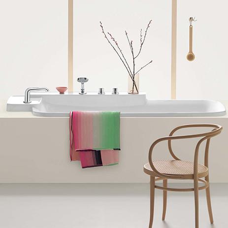 Tipps für die Badplanung beim Neubau | Hansgrohe AT | {Freistehende badewanne grundriss 54}