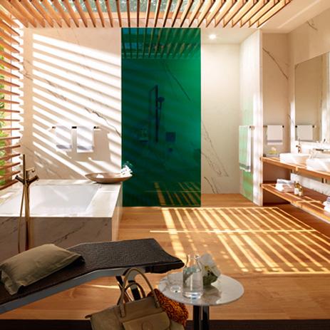 conseils pour concevoir une nouvelle salle de bain hansgrohe fr. Black Bedroom Furniture Sets. Home Design Ideas