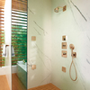 AXOR ShowerSelect mixers in the shower.