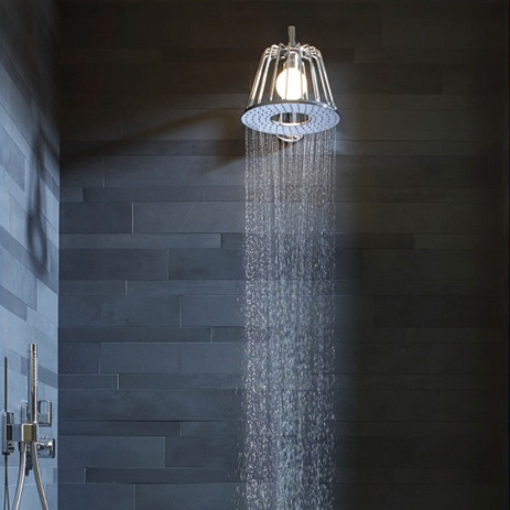 To The Axor LampShower And Matching Showers