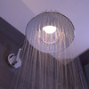 Axor LampShower met LED lamp.