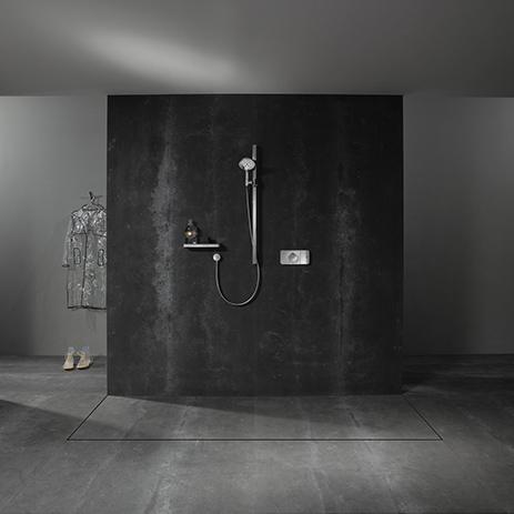 designtermostat til dusjen axor one hansgrohe norge. Black Bedroom Furniture Sets. Home Design Ideas