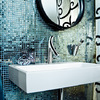 Axor Starck Organic on Memento wash basin from Villeroy & Boch.