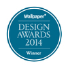 Wallpaper* Design Awards 2014 logo.
