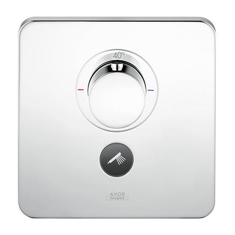un bouton pour se doucher axor showerselect hansgrohe fr. Black Bedroom Furniture Sets. Home Design Ideas
