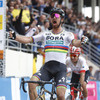 Peter Sagan is victorious.