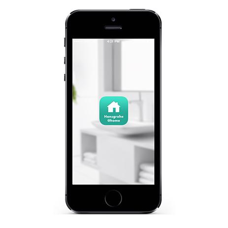 Startbild Hansgrohe@home App ...