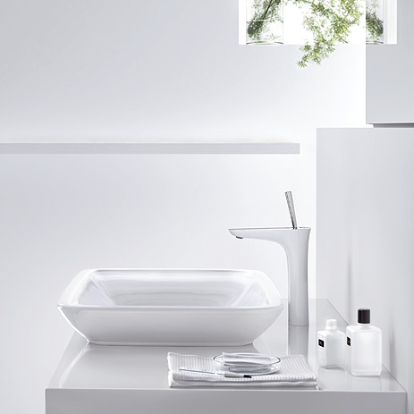sensual design concept for the wash basin avant garde faucet