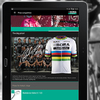 Peter Sagan in der App.