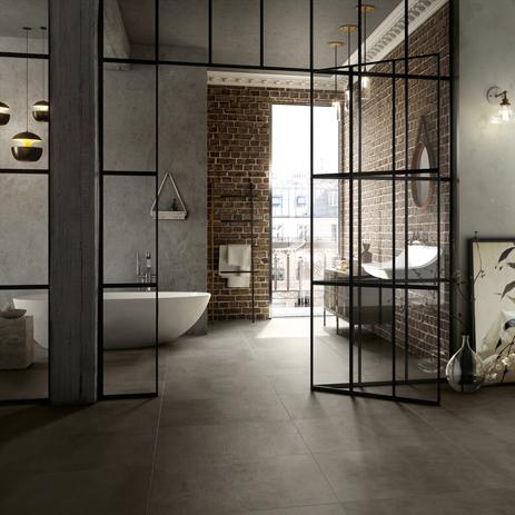 Badkamer geometrisch inrichten – actuele badkamertrends ...