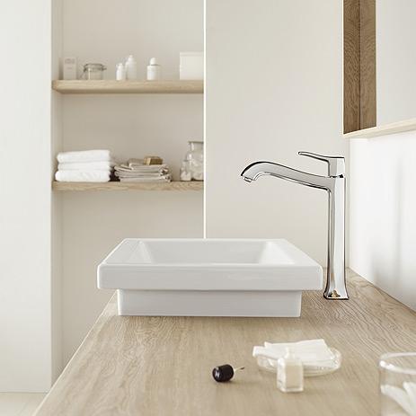 Classic stijl voor nostalgische charme in de badkamer hansgrohe belgi gh luxemburg - Badkamers bassin italiaanse design ...