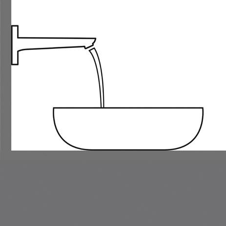 Waschtisch und Armatur passend auswählen | Hansgrohe DE | {Armaturen waschbecken wand 40}